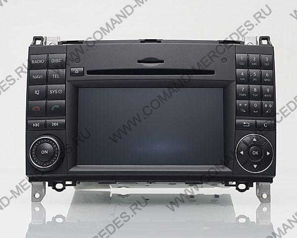 Comand NTG 2.5 Mercedes A класс W169