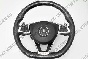 Руль AMG 6.3 Mercedes GLC с карбоном