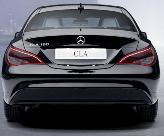 Базовое исполнение Mercedes CLA