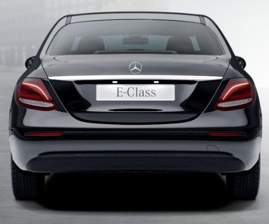 Базовое исполнение Mercedes E класс