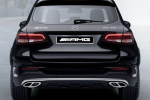 Задний диффузор с насадками AMG 6.3 Mercedes GLC