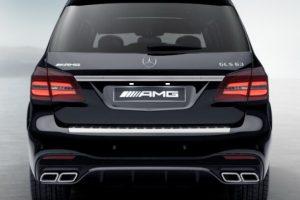 Задний диффузор с насадками AMG 6.3 Mercedes GLS